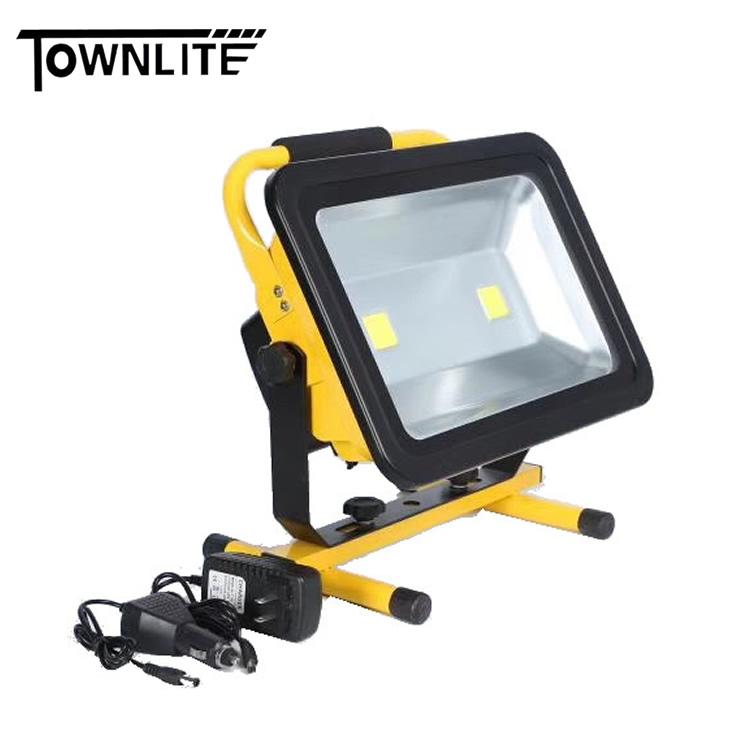 RECHARGABLE LED FLOOD LIGHT