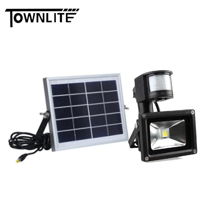 SOLAR SENSOR LED FLOOD LIGHT
